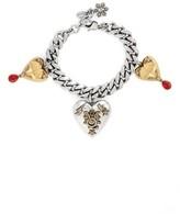 Alexander McQueen Women's Heart Charm Bracelet