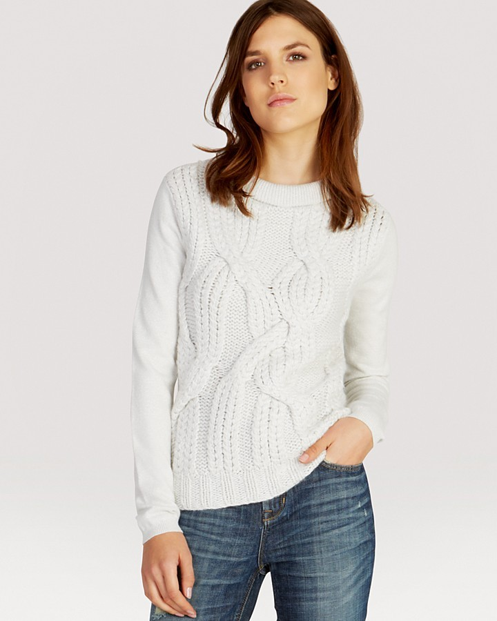 Karen Millen Sweater - Extreme Cable Knit