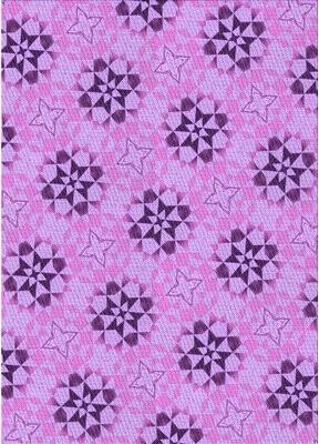Ebern Designs Zhane Abstract Wool Purple/Pink Area Rug Rug Size: Runner 2' x 5'