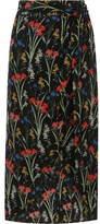Oasis Flower Wrap Skirt