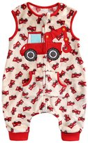 BOOPH Baby Kids Boys 0-5Y Fleece Wearable Blanket Sleepsack Zipup M