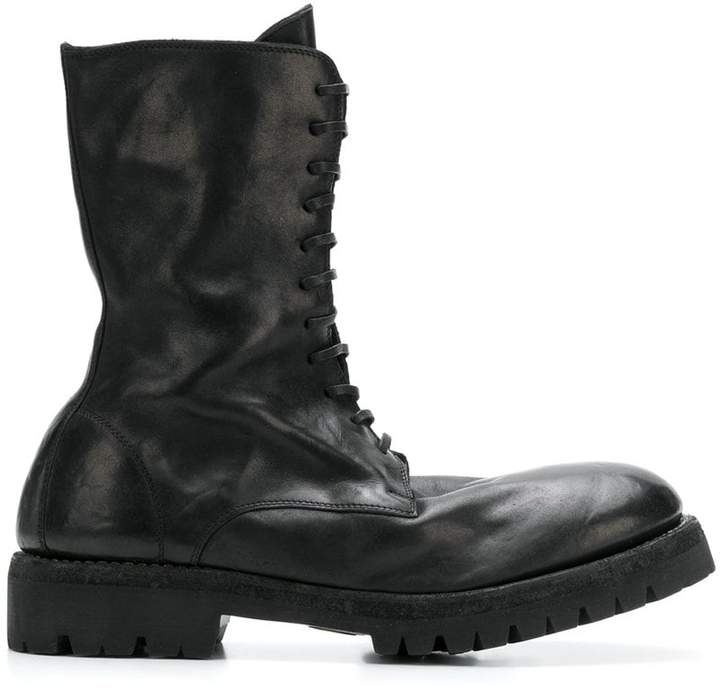 Guidi lace-up boot