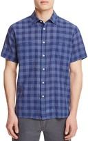 Billy Reid Donelson Plaid Regular Fit Button Down Shirt