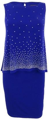 Jessica Howard JessicaHoward Women's Popover Sheath Dress