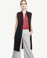 Ann Taylor Petite Sleeveless Sweater Vest