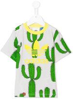 Mini Rodini Adidas Originals x cactus print T-shirt