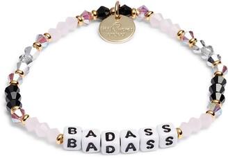 Little Words Project Badass Beaded Stretch Bracelet