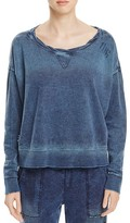 Vintage Havana Denim French Terry Pullover - 100% Bloomingdale's Exclusive