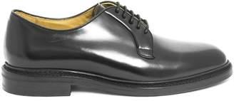 Berwick 1707 Black Leather Derby Shoes