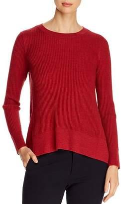 Eileen Fisher Merino Wool Ribbed Sweater