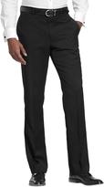 Tommy Hilfiger Black Solid Pants