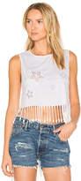 Chiara Ferragni X REVOLVE Star T-Shirt in White. - size L (also in S,XS)