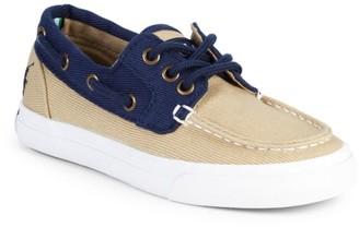 Ralph Lauren Boy's Bridgeport Canvas Boat Shoes