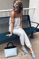 Forever 21 FOREVER 21+ Contemporary Striped Jumpsuit