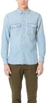 Current/Elliott 2 Pocket Ruler Fit Denim Shirt