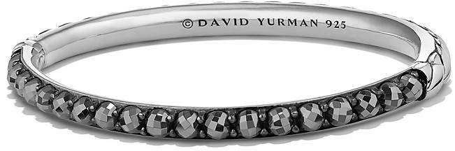 David Yurman Osetra Bangle Bracelet with Hematine
