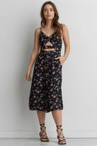 American Eagle Outfitters AE Cutout Front Midi Dress