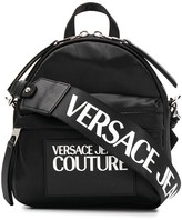 Versace Contrast Logo Backpack