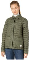 The North Face ThermoBalltm Eco Snap Jacket (New Taupe Green Heather/British Khaki) Women's Coat