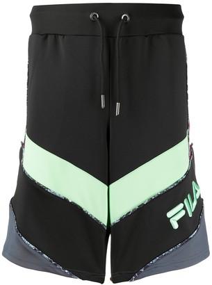Fila Jirou colour-block shorts