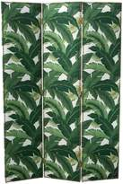 Cloth + Co Swaying Palm Aloe Straight Screen