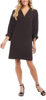Karen Kane Blouson Sleeve Shift Dress