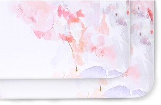 Oilo 2-Pack Fitted Primrose Print Jersey Crib Sheets
