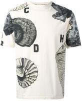 Loewe shell print T-shirt - men - Cotton - XS