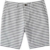 Joe Fresh Men's Stripe Short, Light Navy (Size 34)
