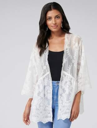 Ever New Lily Lace Kimono