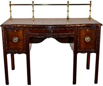 One Kings Lane Vintage 19th-C. Irish Mahogany Sideboard - Black Sheep Antiques