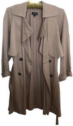 Topshop Tophop Beige Trench Coat for Women