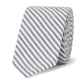 Thom Browne 5.5cm Striped Cotton Oxford Tie