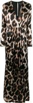 Philipp Plein long animal print dress