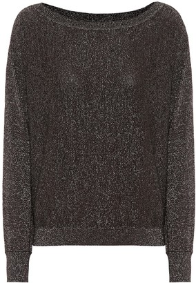 Velvet Abril metallic sweater