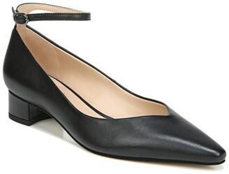 Franco Sarto Karlyn Leather Block Heel Pump