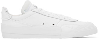 Nike White Drop-Type Premium N.354 Sneakers