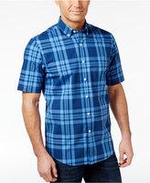 Club Room Men's Big & Tall Plaid Cotton Shirt, Only at Macy's