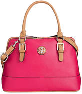 Giani Bernini Saffiano Medium Dome Satchel, Only at Macy's