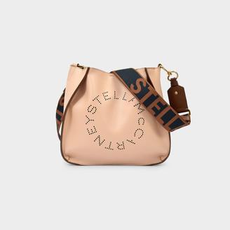 Stella McCartney Handbag Mini Crossbody In Blush Synthetic Leather