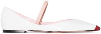 Piferi Tremaine toe-cap ballerina shoes