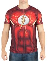 Bioworld DC Comics Flash Sublimated Tee - Men's Regular