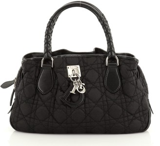 Christian Dior Charming Tote Cannage Quilt Nylon