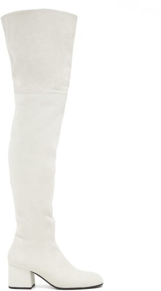 Over Knee Boots White   Shop the world
