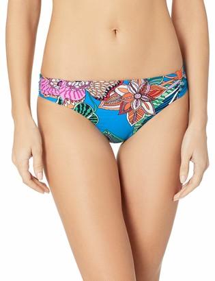 Trina Turk Women's Side Shirred Hipster Bikini Swimsuit Bottom