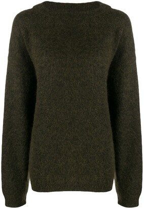Acne Studios Dramatic Mohair knitted jumper