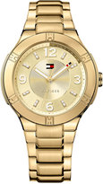 Tommy Hilfiger Women's Gold Ion-Plated Stainless Steel Bracelet Watch 40mm 1781450
