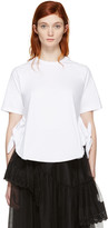 Simone Rocha White Two-knot T-shirt