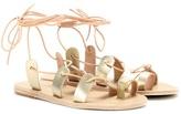 Ancient Greek Sandals Alcyone Metallic-leather Sandals