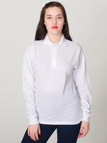 American Apparel Unisex Pique Long Sleeve Shirt